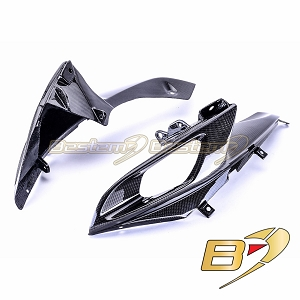 Suzuki GSXR 600 750 2006 - 2007 100% Carbon Fiber Ram Air Intake Covers