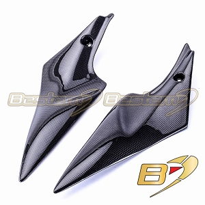 Suzuki GSXR 600 750 2006 - 2007 100% Carbon Fiber Side Panels 2