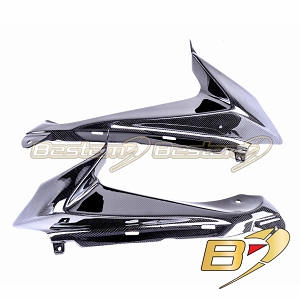 Suzuki GSXR 600 750 2008 - 2010 100% Carbon Fiber Side Panels 2