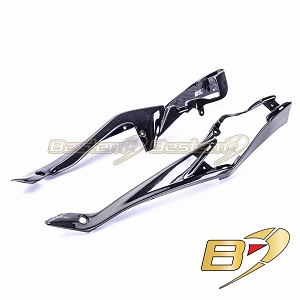 Suzuki GSXR 600 750 2008 - 2010  100% Carbon Fiber Tank Side Panels