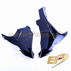 Suzuki GSXR 600 750 2011-2018 100% Carbon Fiber Belly Pan Twill Weave Pattern