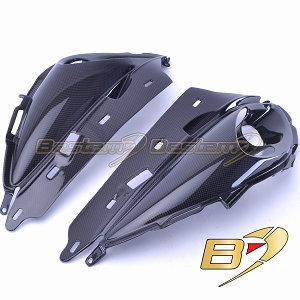 Suzuki GSX1300R Hayabusa 2008 - 2017 100% Carbon Fiber Upper Fairing Center