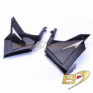 Triumph Daytona 675 2013 100% Carbon Fiber Belly Panels ,