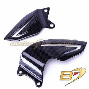 Triumph Daytona 675 2013  100% Carbon Fiber Heel Guards