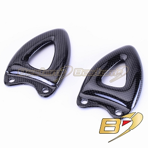 Triumph Speed Triple 1050 2008 - 2010 100% Carbon Fiber Heel Guards
