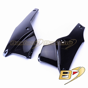 Triumph Speed Triple 2011 - 2013 100% Carbon Fiber Belly Pans (L+R)
