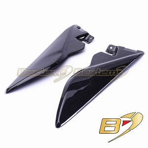 Triumph Speed Triple 2011 - 2012 100% Carbon Fiber Tank Side Panels