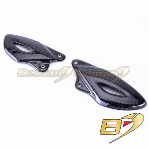 Triumph Street Triple 2008 - 2011 100% Carbon Fiber Heel Guards