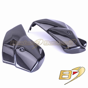 Triumph Tiger 800 100% Carbon Fiber Lower Radiator Covers (L+R)