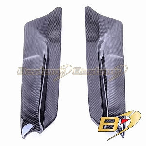 Triumph Tiger 800 100% Carbon Fiber Seat Side Panels (L+R)