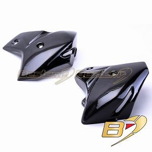 Yamaha FZ8 2010 - 2013 100% Carbon Fiber Radiator Covers