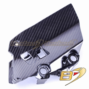 2014-2016 Yamaha FZ-09/MT-09 100% Carbon Fiber Air Intake Inner Panel, Twill Weave Pattern