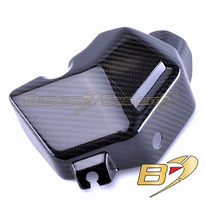 2014 - 2016 MT09 FZ09 FJ09 MT FZ 100% Carbon Fiber Water Coolant Side Cover Panel, Twill,