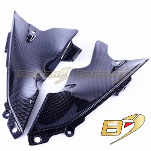 Yamaha R1 2004 - 2006 Carbon Fiber Front Dash Air Tube Trim Cover Fairing 2005
