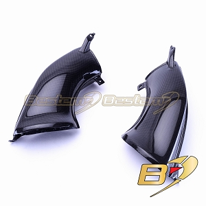 Yamaha YZF R1 2007 - 2008 100% Carbon Fiber Air Intake Dash Covers