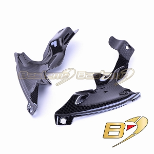 Yamaha YZF R1 2007 - 2008 100% Carbon Fiber Side Panels Lower
