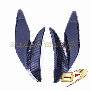 Yamaha YZF R1 2009 - 2014 100% Carbon Fiber Main Frame Side Panel Insert  Twill Weave Pattern