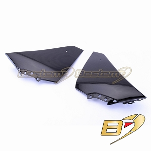 Yamaha YZF R1 2009 - 2014 100% Carbon Fiber Side Panels 2