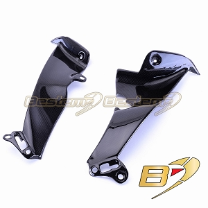 Yamaha YZF R1 2009 - 2014  100% Carbon Fiber Side Panel Fairings 5