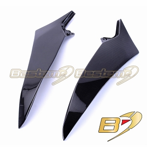 Yamaha YZF R1 2009 - 2014  100% Carbon Fiber Tank Side Panels