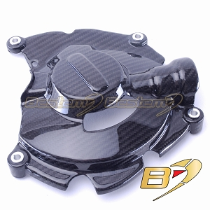 Yamaha R1 2015 - 2019  100% Carbon Fiber Engine Cover Large, Twill Weave Pattern