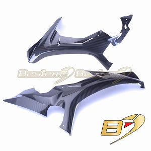 Yamaha R1 2015 - 2019  100% Carbon Fiber Side Panels, Twill Weave Pattern