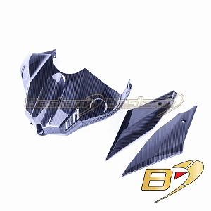 Yamaha R1 2015 - 2019  100% Carbon Fiber Tank Cover + Tank Side Panels, Twill Weave