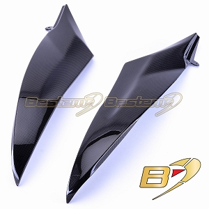 Yamaha YZF R6 2006 - 2007 100% Carbon Fiber Tank Side Panels