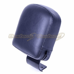 Yamaha V Star 1100 Driver Backrest Black Powder Coated