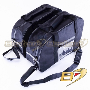 BMW K100 K75 Saddlebag Sideliners Side Case Trunk Liners Bags, Black - Pair