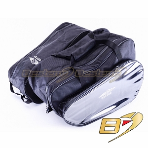BMW K1200LT Saddlebag Sideliners Side Case Trunk Liners Bags,CD Version, Black - Pair
