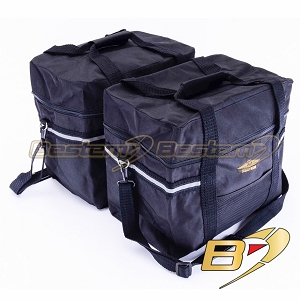 BMW R1150GS Adventure Saddlebag Sideliners Side Case Trunk Liners Bags, Black - Pair