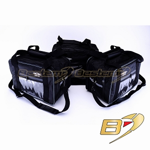 BMW R1200GS Saddlebag Sideliners Side Case Liners and Topliner Top Box Case Liner Set, 3PCS with Clear Pockets