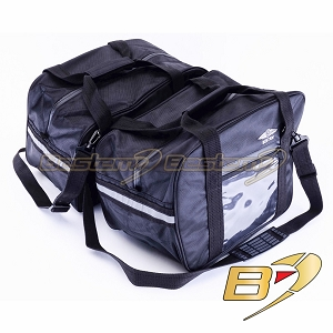 BMW R1200RT (prior to 2014) ,R1200R,R1200ST,K1200GT(06+) Saddlebag Sideliners Side Case Trunk Liners Bags, Black with Clear Pocket - Pair