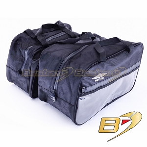 Can-Am Spyder RT Saddlebag Sideliners Side Case Trunk Liners Bags, Black - Pair