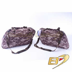 Harley Davidson Glide/Road King Hard Saddlebag Side Case Liners, Camouflage Version - Pair