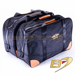 Honda Gold Wing GL1500 Saddleebag Sideliners Side Case Trunk Liners Bags, Black - Pair