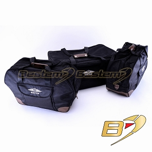 2001-2010 Honda Gold Wing GL1800 Saddlebag Side Case Trunk Liners and Top Box Case Liner Set, 3PCS, Deluxe, Black