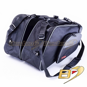 Honda ST1300 Saddlebag Sideliners Side Case Trunk Liners Bags, Black - Pair
