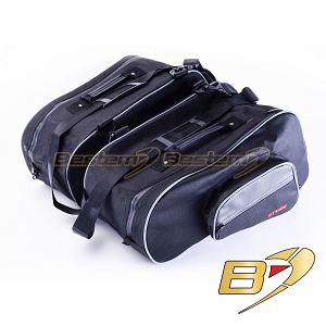 Honda ST1300 Saddlebag Sideliners Side Case Trunk Liners Bags, Wide Version, Black