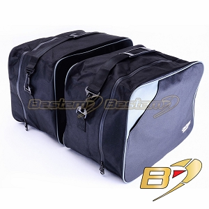 Kawasaki Concours ZG1000 Saddlebag Sideliners Side Case Trunk Liners, Bags, Wide Version, Black