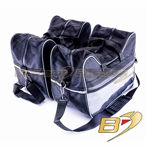 Triumph Sprint ST 1050 Saddlebag Sideliners Side Case Trunk Liners Bags,Balck - Pair
