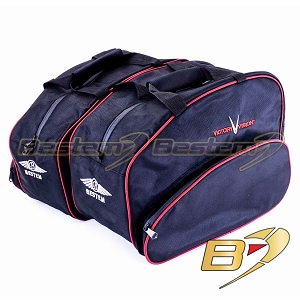 Victory Vision Saddlebag Sideliners Side Case Trunk Liners Bags,Balck - Pair