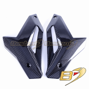 2014-2018 BMW S1000R Lower Bottom Oil Belly Pan Panel Cowl Fairing Carbon Fiber