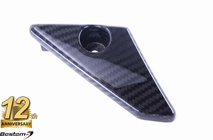 EBR 1190 RX SX 100% Carbon Fiber Chain Guard Lower, Twill, , Press Molded