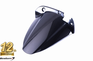 EBR 1190 RX SX 100% Carbon Fiber Rear Hugger, Twill, , Press Molded