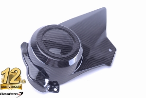 EBR 1190 RX SX 100% Carbon Fiber Sprocket Cover, Twill, , Press Molded
