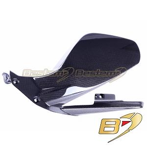 V4R Full Carbon Fibre Pillion Seat Cover In Gloss Ducati Panigale V4 V4S