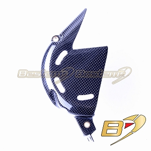Ducati Panigale V4 / V4S Carbon Fiber Engine Chain Sprocket Cover Guard Fairing