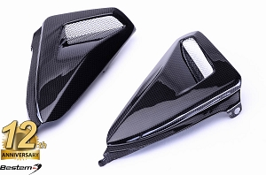 Honda CB1000R 2008 - 2017 100% Carbon Fiber Side Panels Upper